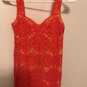 Free People Bodycon lace dress size m/l